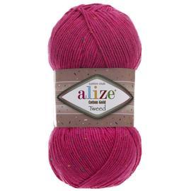 Пряжа Alize Cotton Gold Tweed - 149 фуксия, Цвет: 149 фуксия