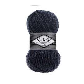 Пряжа Alize Superlana Maxi - 805 синий меланж, Цвет: 805 синий меланж