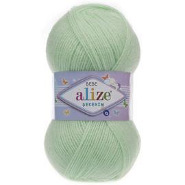 Пряжа Alize Sekerim Bebe - 188 св.зеленый, Цвет: 188 св.зеленый