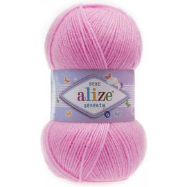 Пряжа Alize Sekerim Bebe - 191 розовый, Цвет: 191 розовый