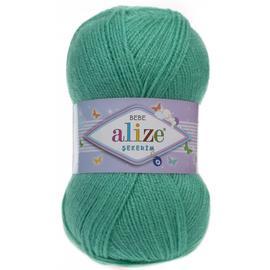 Пряжа Alize Sekerim Bebe - 249 светлый изумруд, Цвет: 249 светлый изумруд