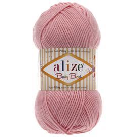 Пряжа Alize Baby Best - 161 пудра, Цвет: 161 Пудра