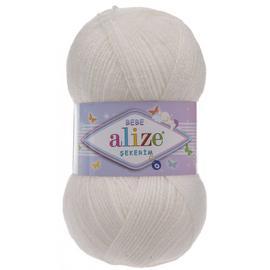 Пряжа Alize Sekerim Bebe - 450 жемчужный, Цвет: 450 жемчужный