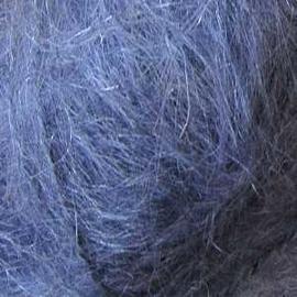 Пряжа Alize Mohair Classic New - 411 джинсовый меланж, Цвет: 411 джинсовый меланж