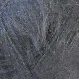 Пряжа Alize Mohair Classic New - 87 серый, Цвет: 87 серый