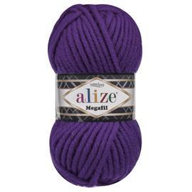 Пряжа Alize Superlana Megafil - 111 фиолетовый, Цвет: 111 фиолетовый