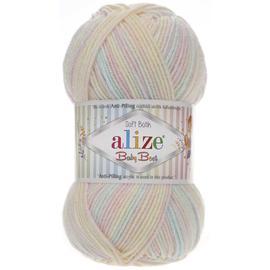 Пряжа Alize Baby Best Batik - 6655 желто-розовый, Цвет: 6655 желто-розовый