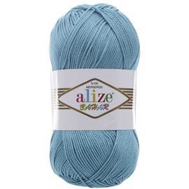 Пряжа Alize Bahar - 128 светлая бирюза, Цвет: 128 светлая бирюза