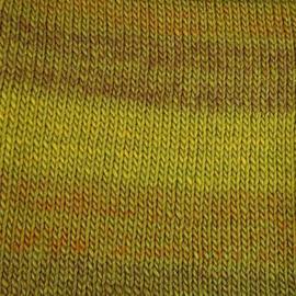 Пряжа Пехорка Ровница Мультиколоровая - 1018 М горчичный меланж, Цвет: 1018 М горчичный меланж