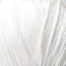 Пряжа Пехорка Весенняя - 01 белый, Цвет: 01 белый