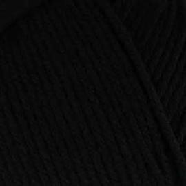 Пряжа Пехорка Элегантная - 02 черный, Цвет: 02 черный