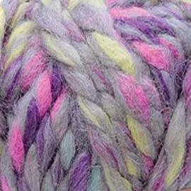 Пряжа Nako Lora - 28075 серо-сиреневый меланж, Цвет: 28075 серо-сиреневый меланж