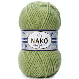 Пряжа Nako Mohair Delicate Bulky - 4634 фисташка, Цвет: 4634 фисташка