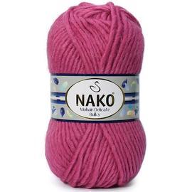 Пряжа Nako Mohair Delicate Bulky - 6247 мальва, Цвет: 6247 мальва