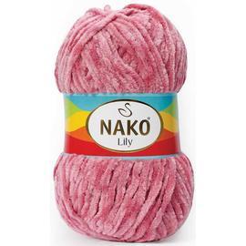 Пряжа Nako Lily - 2807 т.роза, Цвет: 2807 т.роза