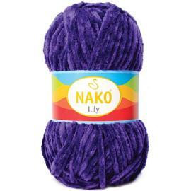 Пряжа Nako Lily - 4289 фиолетовый, Цвет: 4289 фиолетовый