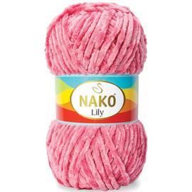 Пряжа Nako Lily - 816 темно-розовый, Цвет: 816 темно-розовый