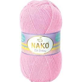 Пряжа Nako Elit Baby - 6936 розовый, Цвет: 6936 розовый