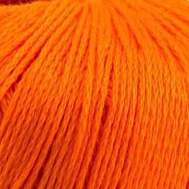 Пряжа Камтекс Хлопок Мерсеризованный - 068 апельсин, Цвет: 068 апельсин