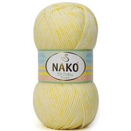 Пряжа Nako Elit Baby Muare - 31866 св.лимон, Цвет: 31866 св.лимон