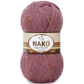 Пряжа Nako Super Inci Hit Tweed - 569 брусника, Цвет: 569 брусника