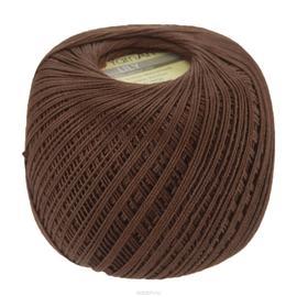 Пряжа Yarnart Lily - 0005 коричневый, Цвет: 0005 коричневый