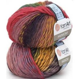 Пряжа Yarnart Harmony - А6 т.радуга, Цвет: А6 т.радуга
