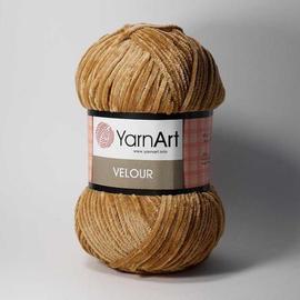 Пряжа Yarnart Velour - 849 т.бежевый, Цвет: 849 т.бежевый