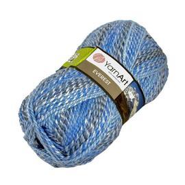 Пряжа Yarnart Everest - 7021 голубой, Цвет: 7021 голубой