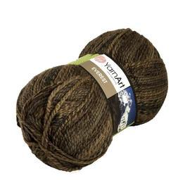 Пряжа Yarnart Everest - 7028 коричневый, Цвет: 7028 коричневый