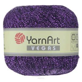 Пряжа Yarnart Vegas - 44 фиолет, Цвет: 44 фиолет