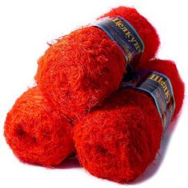 Пряжа Color-City Щелкунчик - 23 красный, Цвет: 23 красный