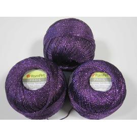 Пряжа Yarnart Paris - 329 фиолет, Цвет: 329 фиолет