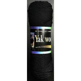 Пряжа Color-City Yak Wool (Як Вул) - 2622 черный, Цвет: 2622 черный