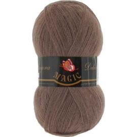 Пряжа Magic Angora Delicate - 1131 холодный коричневый, Цвет: 1131 холодный коричневый