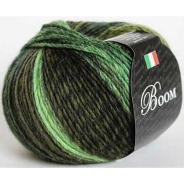 Пряжа Seam Boom - 58314 изумруд/зелен/хаки, Цвет: 58314 изумруд/зелен/хаки