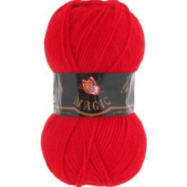 Пряжа Magic Galaxy - 5918 красный, Цвет: 5918 красный