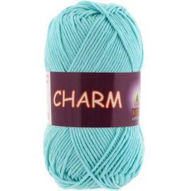 Пряжа Vita Cotton Charm - 4185 св.голубая бирюза, Цвет: 4185 св.голубая бирюза