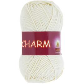 Пряжа Vita Cotton Charm - 4153 молочный, Цвет: 4153 молочный