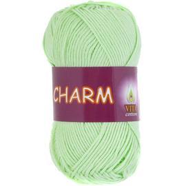 Пряжа Vita Cotton Charm - 4161 св.салатовый, Цвет: 4161 св.салатовый