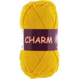 Пряжа Vita Cotton Charm - 4180 желтый, Цвет: 4180 желтый