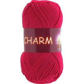 Пряжа Vita Cotton Charm - 4192 красная ягода, Цвет: 4192 красная ягода