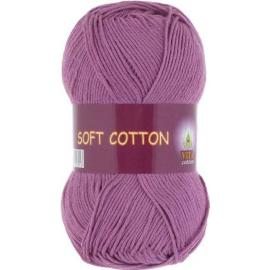 Пряжа Vita Cotton Soft Cotton - 1827 цикламен, Цвет: 1827 цикламен