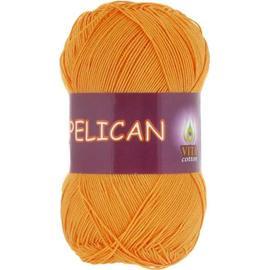 Пряжа Vita Cotton Pelican - 4007 желток, Цвет: 4007 желток