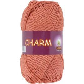 Пряжа Vita Cotton Charm - 4199 дымч.роз.коралл, Цвет: 4199 дымч.роз.коралл