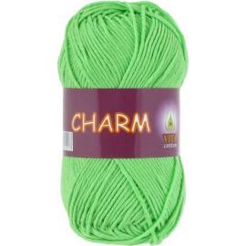 Пряжа Vita Cotton Charm - 4502 яр.молодая зелень, Цвет: 4502 яр.молодая зелень