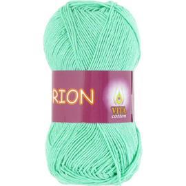 Пряжа Vita Cotton Orion - 4577 св.зел.бирюза, Цвет: 4577 св.зел.бирюза
