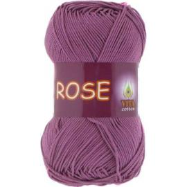 Пряжа Vita Cotton Rose - 4255 цикламен, Цвет: 4255 цикламен