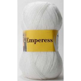 Пряжа Jina Императрица - 150 белый, Цвет: 150 белый