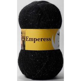Пряжа Jina Императрица - 30 черный, Цвет: 30 черный